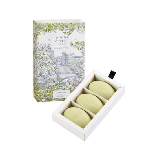 Soap 3 x 60g - Lily of The Valley