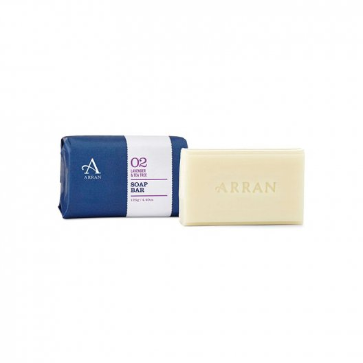 Arran Sense of Scotland - Lavender & Tea Tree Soap - 125g