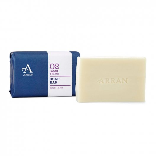 Arran Sense of Scotland - Lavender & Tea Tree Soap - 300g