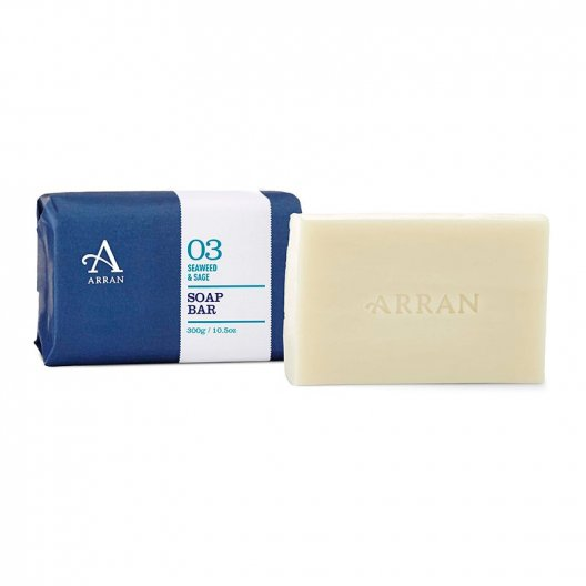 Arran Sense of Scotland - Seaweed & Sage Soap - 300g