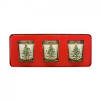 Wax Lyrical - Duo Baby it's Cold Outside Diffuseur & Bougie votive Festive Treats - 12h