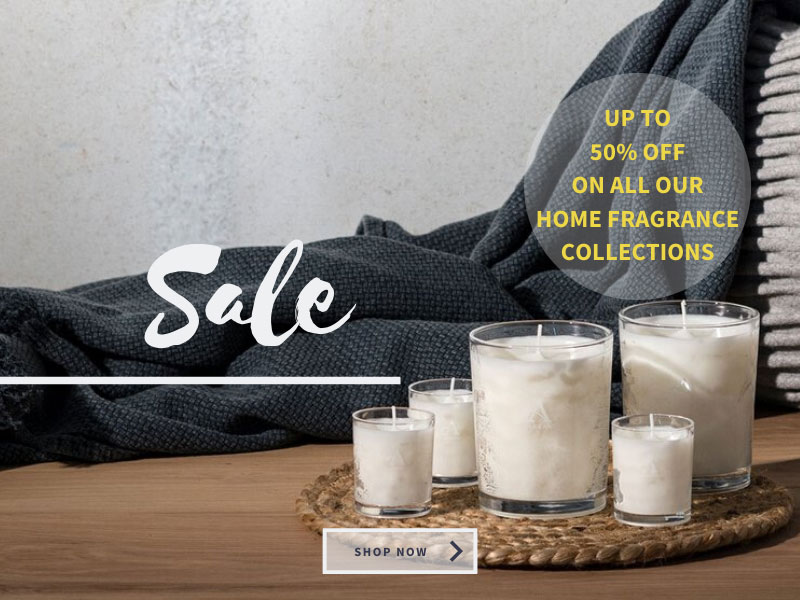 Feel British Sale - Up to 50% off all home fragrance collections