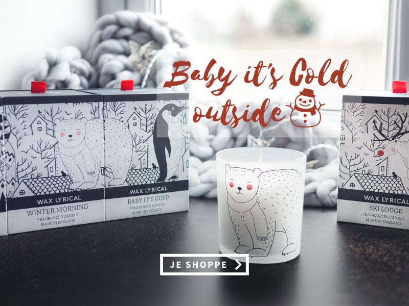 Wax Lyrical - Baby it's Cold Outside - Bougies et Diffuseurs pour la maison
