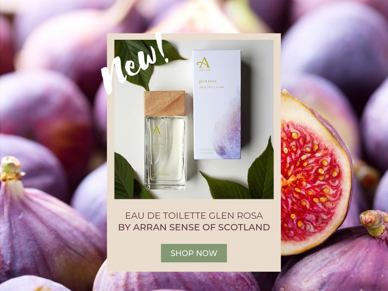 Eau de Toilette GLEN ROSA by Arran Sense of Scotland | Feel British