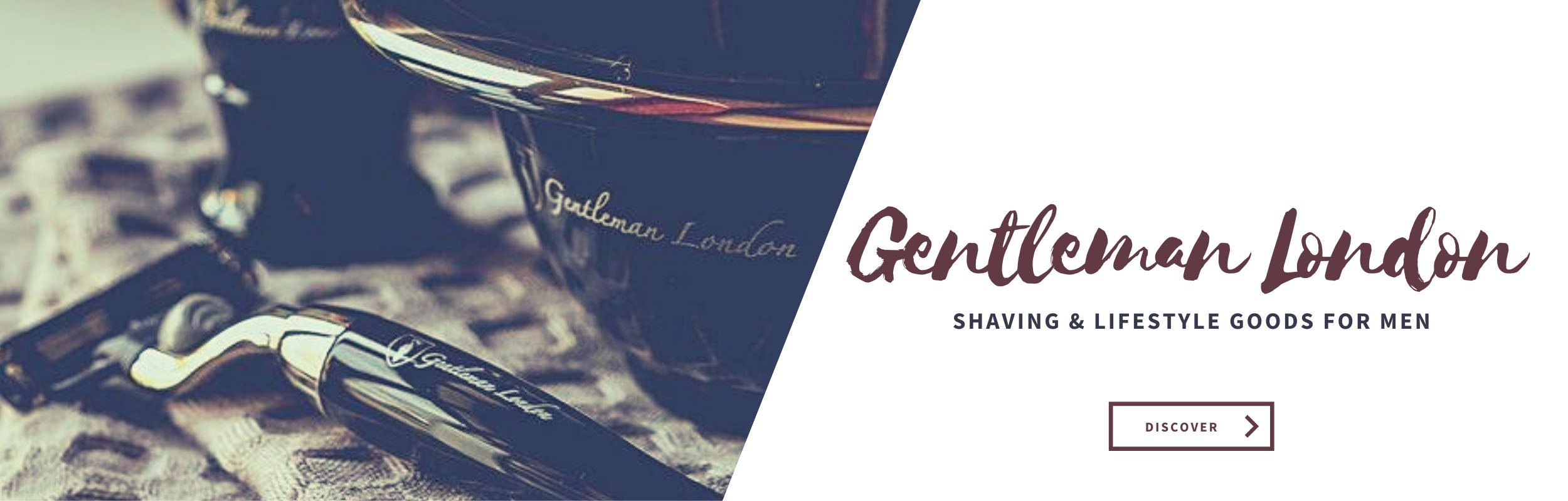 Shave like a Gentleman - Shaving products by Gentleman London - razors, shaving soaps, badger, shaving bowls